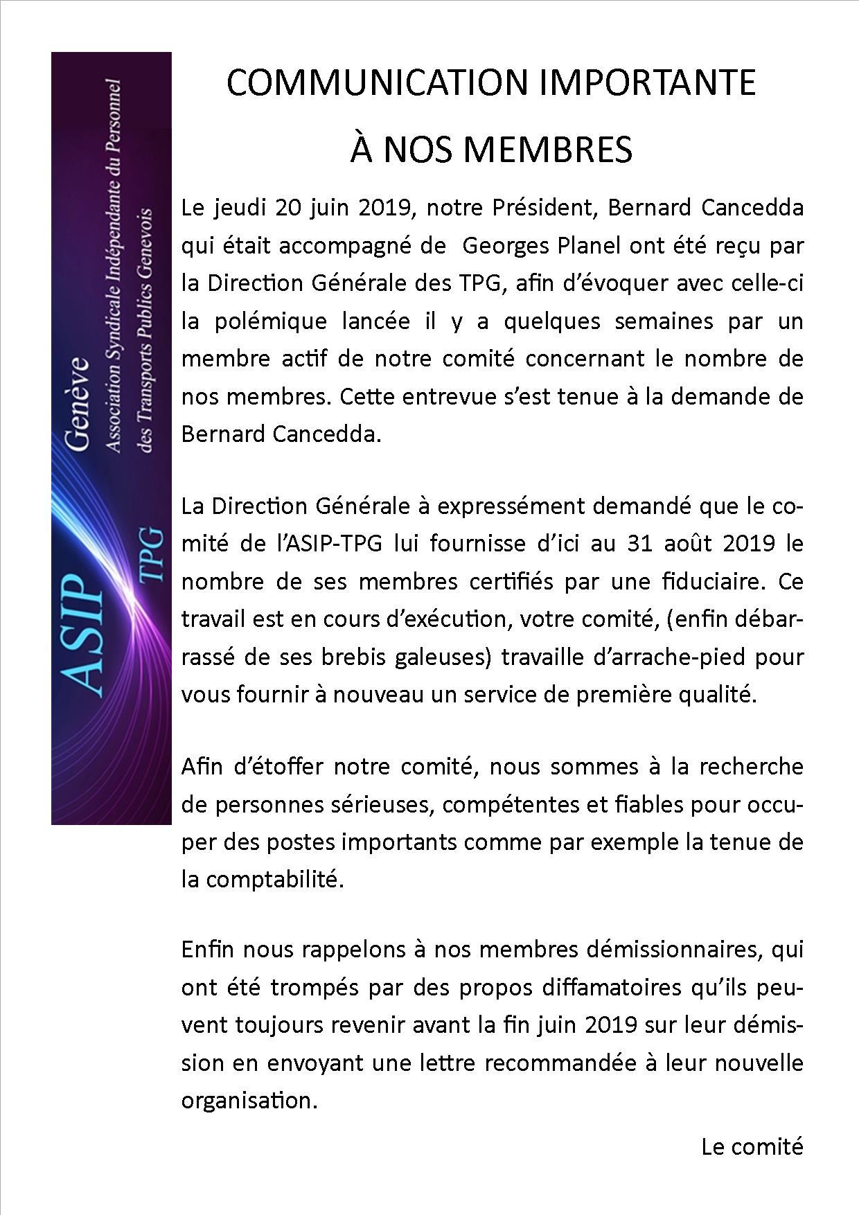 Information 24.6.19